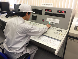 テレメーター設備保守業務