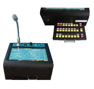 選択呼出機能付き操作卓