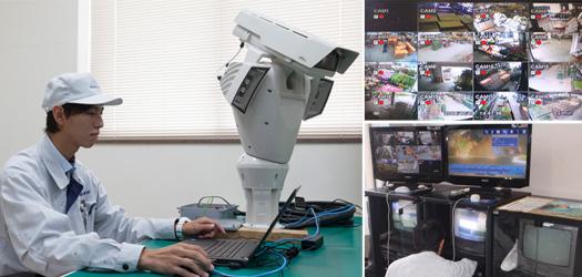 監視カメラ装置