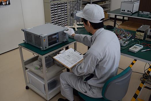 無線装置 調節-検査